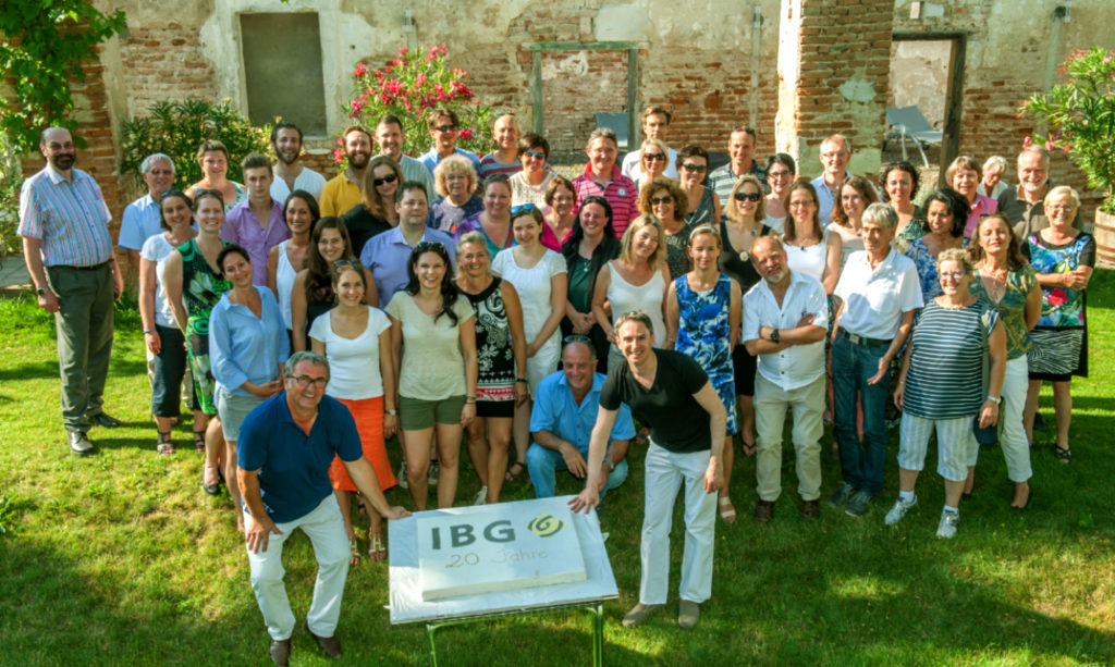 IBG Team Jubiläum 20 Jahre