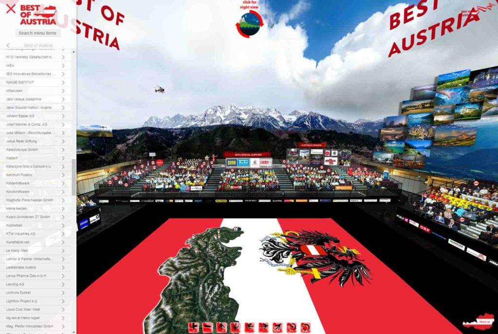Best of Austria Visitkarte IBG