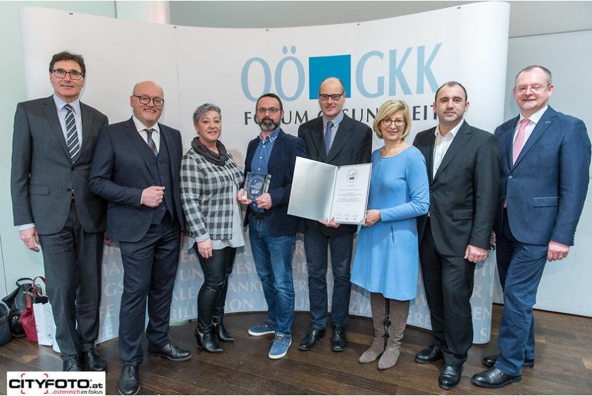 IBG Auszeichnung BGF Gütesiegel OÖGKK Lindorfer