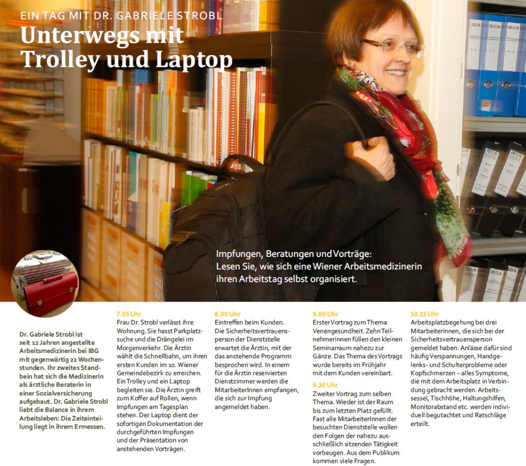 IBG Arbeitsmedizinerin Gabriele Strobl