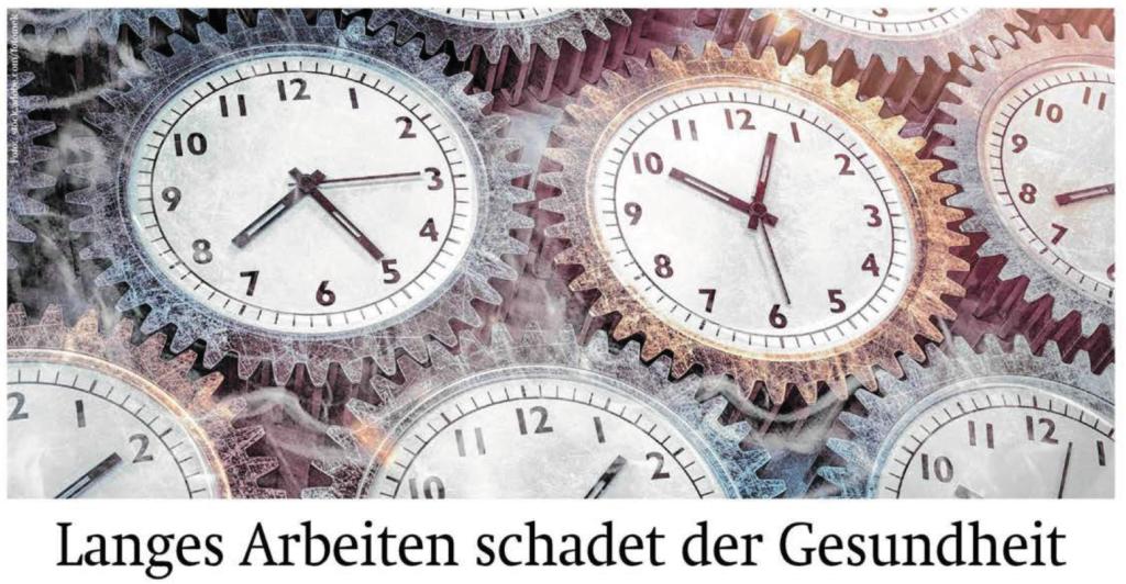 Wiener Zeitung - Langes Arbeiten