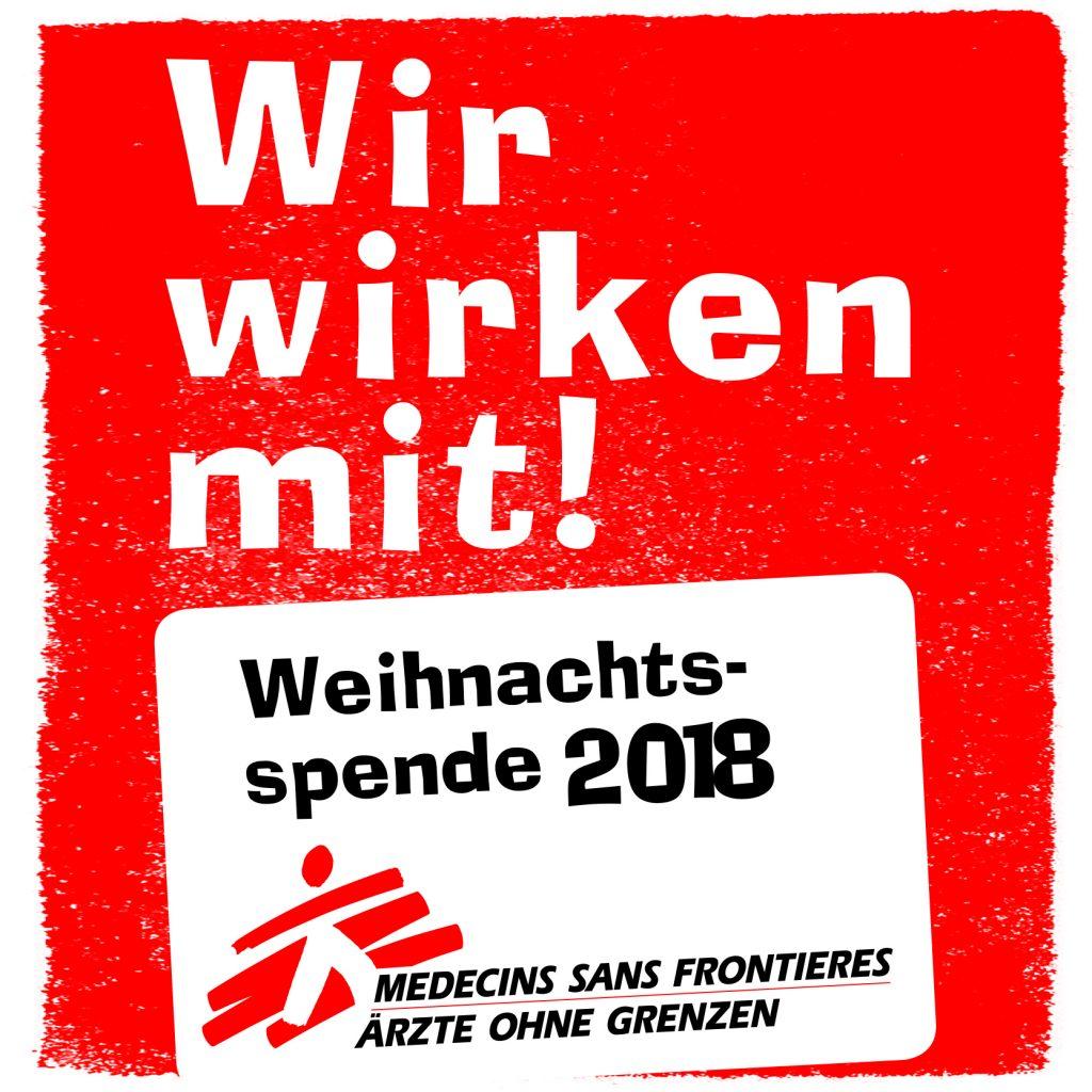 Spende Ärzte ohne Grenzen