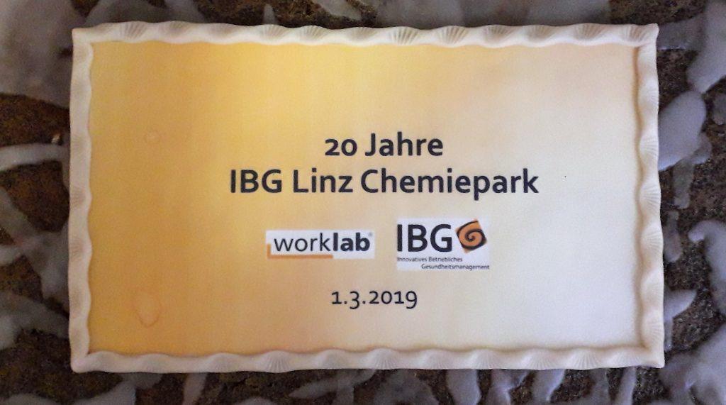20 Jahre IBG Chemiepark Linz