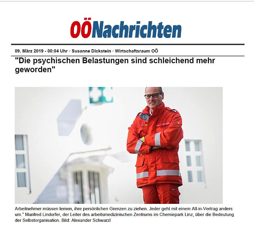 OÖ Nachrichten | Manfred Lindorfer