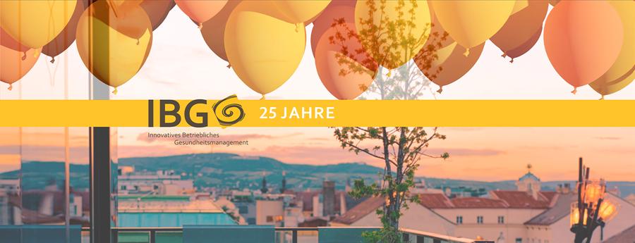 IBG feiert ihren 25. Geburtstag