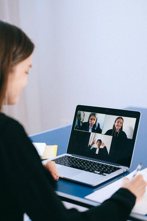 Virtuelles Meeting