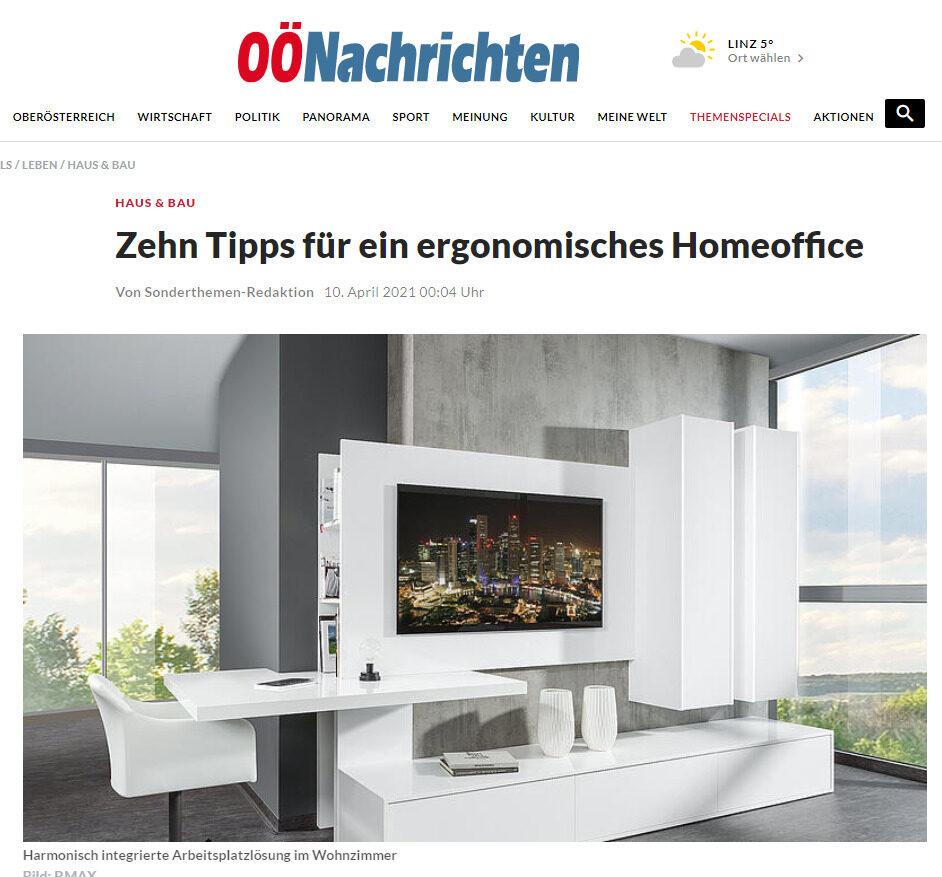 tipps für ein ergonomisches Homeoffice